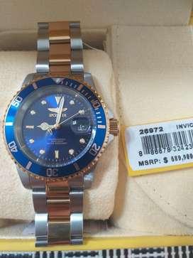 Vendo Reloj Invicta Hombre Acero