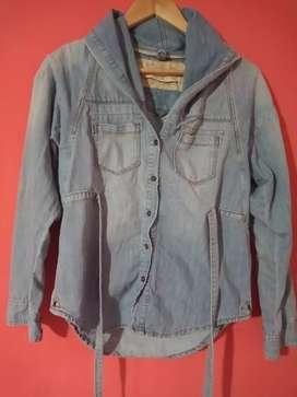 Camisa/campera de jean
