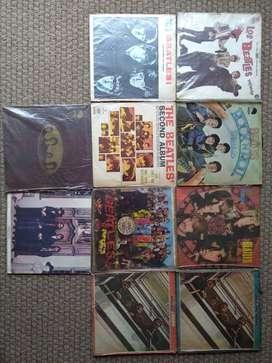 Colección acetatos discos The Beatles