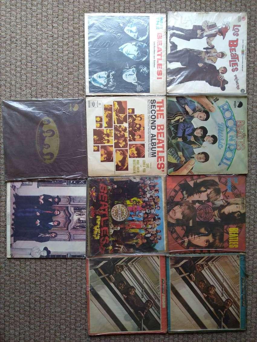 Colección acetatos discos The Beatles 0