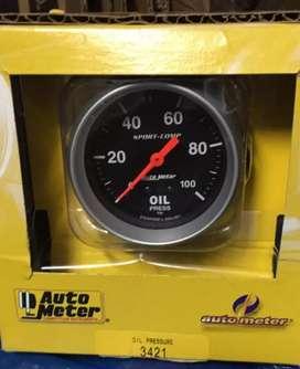Autometer 3421 sport-como medidor de aceite