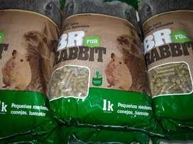 Alimento para Conejos, Hámster y roedores pequeños