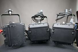 Lote de 3 Fresneles Dexel 650w Vulcano