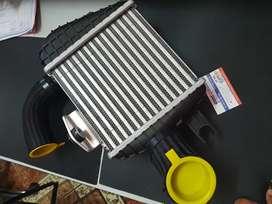 Radiador enfriamiento intercoller original hyundai Santa Fe  Mobis genuino