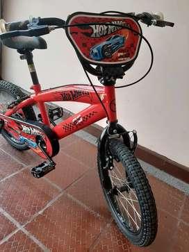 VENDO Bicicleta de Hot Wheels