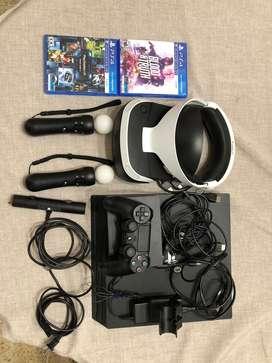 Combo PS4 pro 1 Tb y PSVR