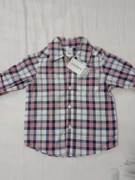 Camisa Marca Carters bebé
