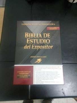 Vendo Biblia de Estudio