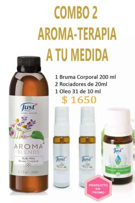 Combos just aromaterapia