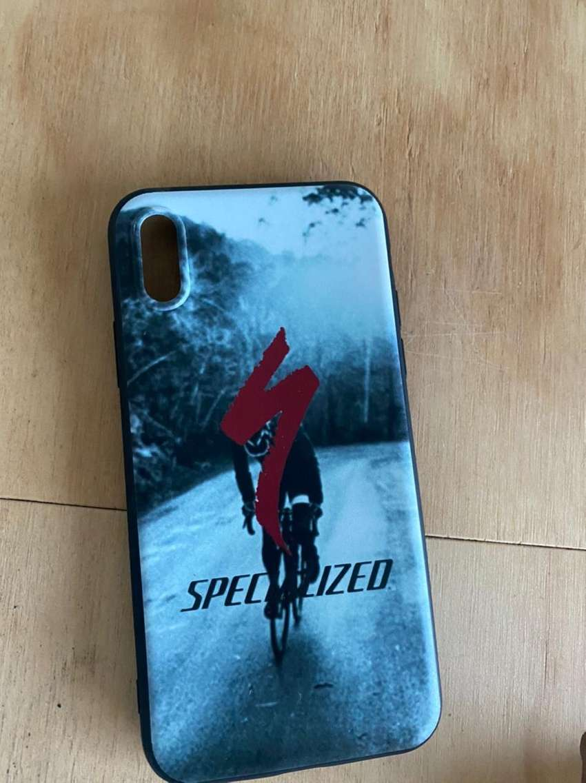 FUNDA CARCAZA PROTECTORA iPhone X SPECIALIZED NEGRO