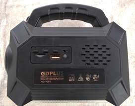 Radio Solar Kit bombillos y linternas