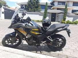Honda CB500x nuevita 2.400km