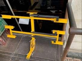 Portabicicleta y protectores de bicicleta