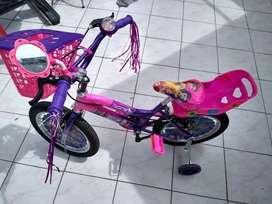 Bicicleta de niña excelente estado