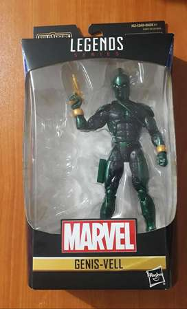 Marvel legends Genis Vell Gi joe motu heman dc universe star wars