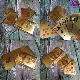 Poker de Lujo Dorado Dollar - Baraja