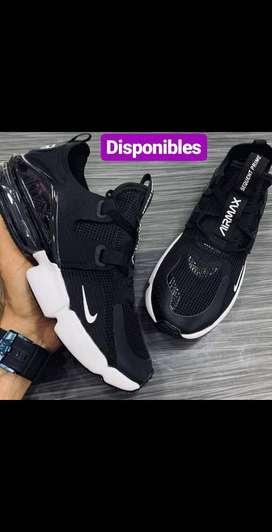 Zapatos Nike Airmax Black Hombre Dtempor