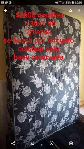 Vendo colchón de 2 plazas