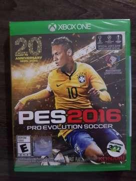 Pes 2016 Xbox One, Nuevo Sellado