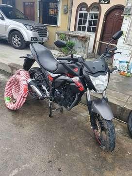 Moto susuki gixxer 155.. año 2019