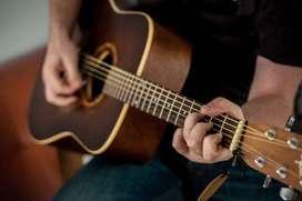 Profesor de guitarra y canto