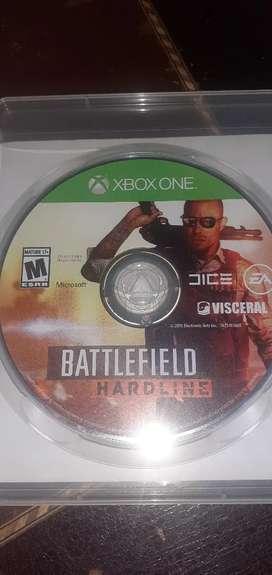 Se vende juego original Battlefield hardline