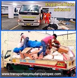 eliminación de desmonte escombros y taxi carga y mudanza en generala barato