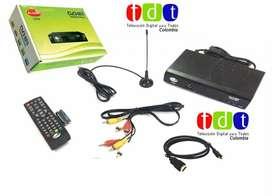 Decodificador TDT, television digital HD Antena