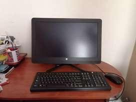 SE VENDE EXELENTE computador all in one HP