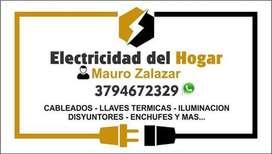 ELECTRICIDAD DEL HOGAR