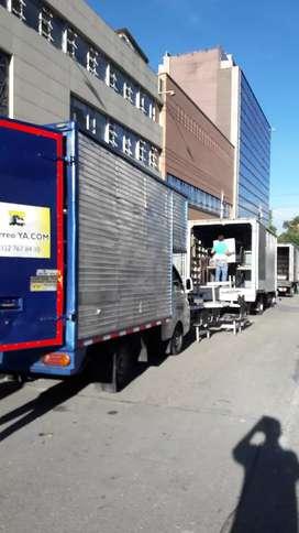 se cuenta con todos los tamaños de furgones para su acarre o