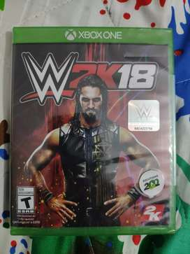 WWE 2K 18 juego lucha Xbox one nuevo y sellado