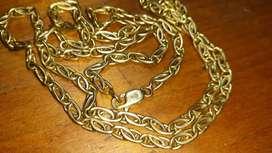 Cadena de oro 18k (750)