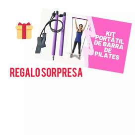 Kit barra de pilates portátil