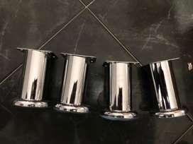 10 Patas o soportes para somier de 10 cm