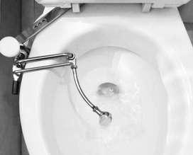 """DISPOSITIVO SANITARIO - Ducha Higiénica y Terapéutica que reemplaza el """"Bidé"""", garantiza la Higiene y la Salud Intima."""