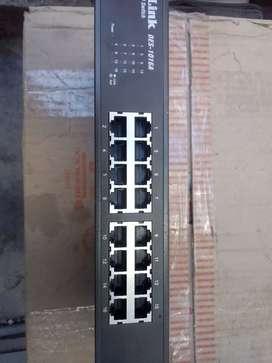 Switch 16 puerto DES 1016S
