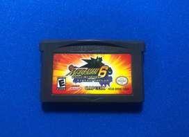Juego Megaman 6 Game Boy Advance Nintendo Capcom