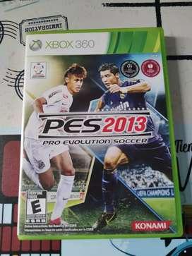 Juego PES 2013 Original Xbox-360 Cambió por otro artículo