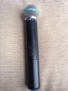 Microfono inalambrico PRODJ