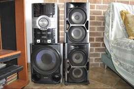 Equipo de Sonido Sony Modelo HCD-GTZ5 $400.000