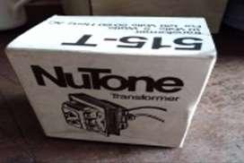 Nutone 515-T Transformador Timbre de puerta principal de 120 voltios, seconary 10 voltios, 5 vatios