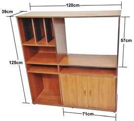 Centro entretenimiento mesa tv 120x125x39cm
