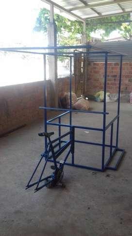 triciclo con techo