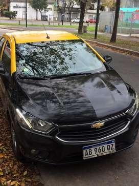 Taxi Chevrolet Prisma LTZ Automatico GNC Licencia Reloj Full Mar