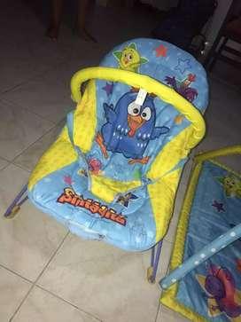 Gym y silla mesedora para bebe