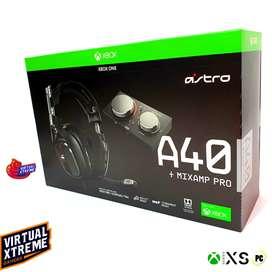 Astro A40 audífonos + MIXAMP PRO XBOX, PC