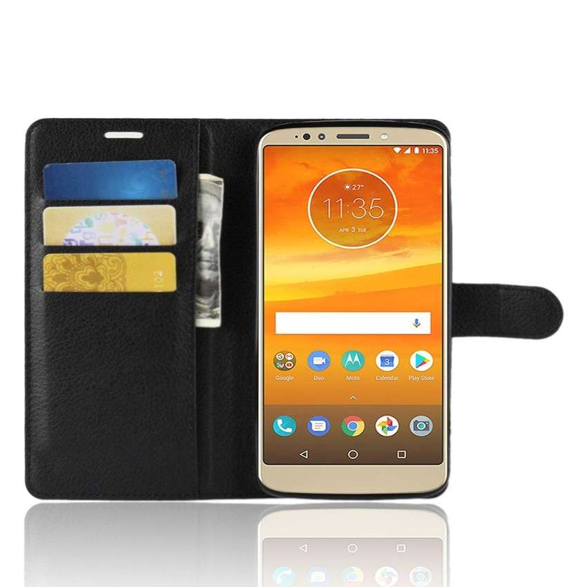 Funda Flip Cover Ejecutivo Motorola E5 Plus E5 Play ECO 0