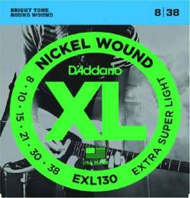 CUERDAS ENCORDADO DADDARIO EXL130 GUITARRA ELECTRICA 08-38