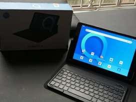 Tablet acatel con accesorios